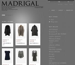 MADRIGAL YOURLINE SHOP